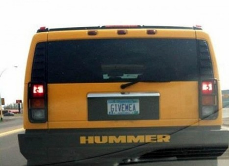 29 Clever License Plates That Slipped Past The DMV | Nerd Vittles Daily Dump | Scoop.it