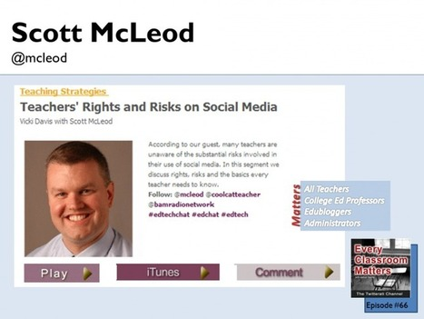 What are teacher rights on social media? | TechTalk | Scoop.it