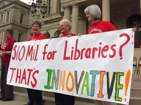 La défense des bibliothèques publiques américaines se poursuit via les médias numériques | enssib | BiblioLivre | Scoop.it