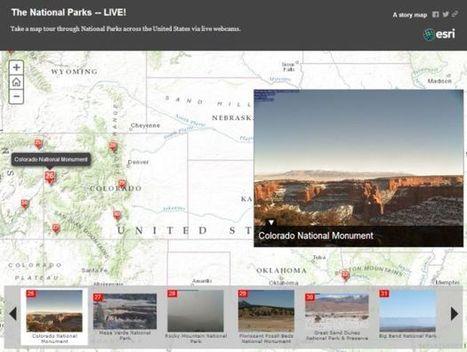 Live Maps, Live Cameras | GIS Education Community | Geospatial technologies | Scoop.it