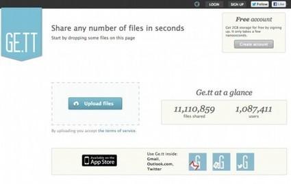 Envoyer des gros fichiers par Internet : 5 sites gratuits et sans inscription | Management et promotion | Scoop.it