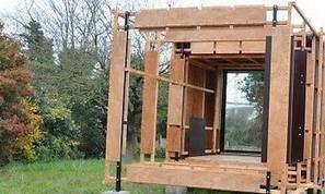 La maison bois écolo, modulaire et accessible sort de terre | technologie 5ème | Scoop.it
