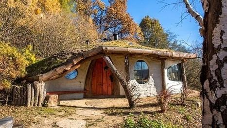 Une maison de style Hobbit magnifique   I love it !   Scoop.it
