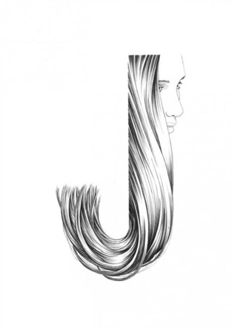 ABC Black Pen Typography – Fubiz™ | Design + Epublishing + Ebook + Graphisme | Scoop.it