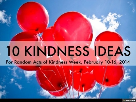 Random Acts Of Kindness | Just Story It Biz Storytelling | Scoop.it