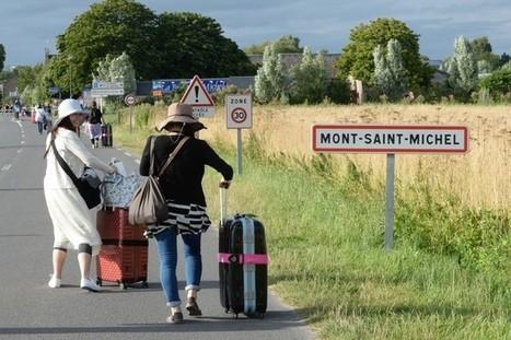 Etat d'urgence Les Japonais délaissent le Mont Saint-Michel   L'observateur du patrimoine   Scoop.it