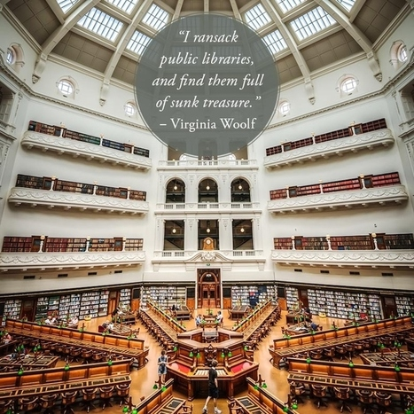 15 wonderful quotes about libraries… in libraries (pictures) | Reading discovery | Scoop.it
