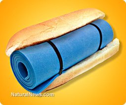 Azodicarbonamide yoga mat chemical confirmed in 500+ everyday foods and grocery items, including natural and 'healthy' products | La Salud es lo Primero | Scoop.it