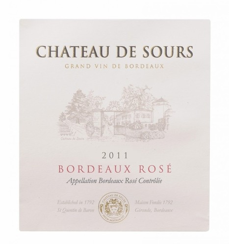 Chateau de Sours Rosé 2011 – 22.01.13 | Michael Olivier | Planet Bordeaux - The Heart & Soul of Bordeaux | Scoop.it