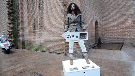 Marithé+François Girbaud réalise le premier défilé statique à Toulouse ! Marketing Stories | Stratégies et actions marketing à l'international | Scoop.it