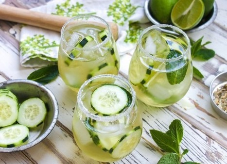 Cucumber & Green Tea Mojito | Personal Life Style | Scoop.it