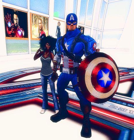 CAPTAIN AMERICAS AVENGERS, Rouse - second Life | Second Life Destinations | Scoop.it