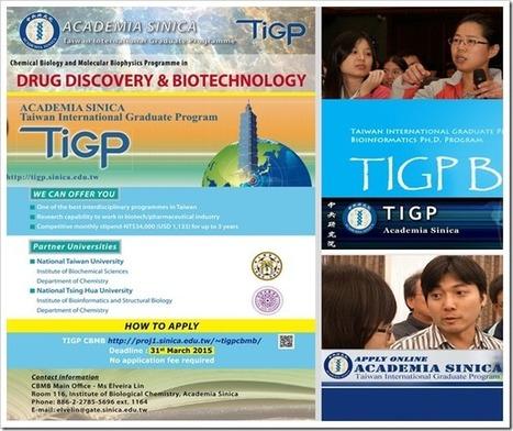 12 interdisciplinary Ph.D. programs @ TIGP-2015 | bioinforamtics | Scoop.it