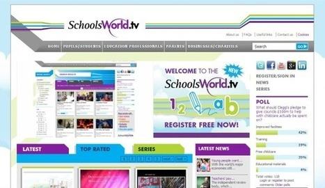 SchoolsWorld, un enorme directorio de vídeos de carácter educativo | mi primer Topic | Scoop.it