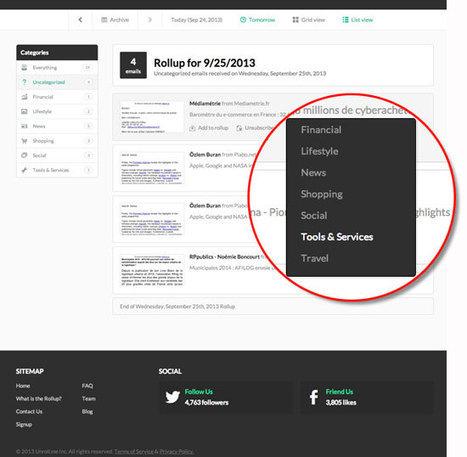 Unroll.me pour se désabonner ou organiser ses newsletters | Entrepreneurs du Web | Scoop.it
