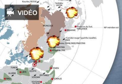 EN VIDÉO • Infographie animée : demain la troisième guerre mondiale? | Journalistes de guerre | Scoop.it