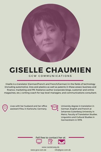 Greatest Women in Translation: Giselle Chaumien | NOTIZIE DAL MONDO DELLA TRADUZIONE | Scoop.it
