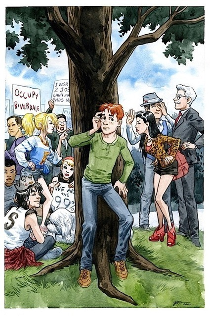 Archie goes OCCUPY RIVERDALE The Beat   Comic Books   Scoop.it