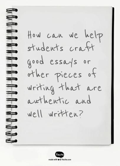 Formulaic Freedom: Get Students to Abandon Writing Formulas | Leading Schools | Scoop.it