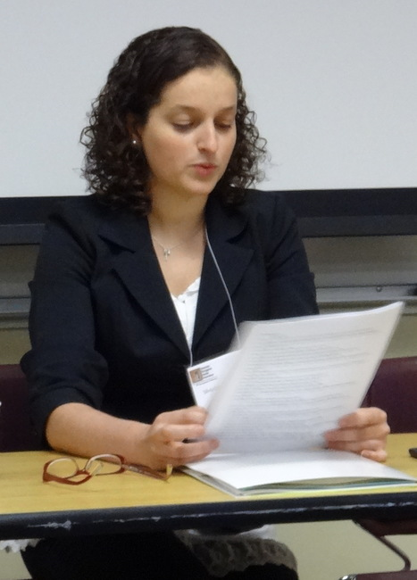 Sílvia Cabral Teresa gives a paper on Clarice Lispector at the APSA in Iowa | The UMass Amherst Spanish & Portuguese Program Newsletter | Scoop.it