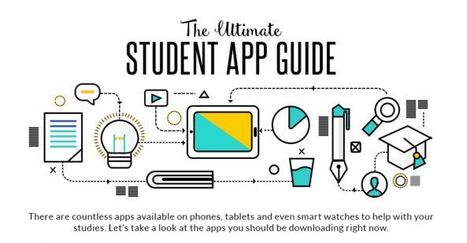 The Ultimate App Guide for Students – Infographic ~ EdTech & MLearning | E-Teaching | Scoop.it