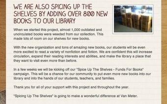 Part 3: Van Meter Library Voice: Our Library After The First Week Of Being Dewey Free | Media Specialist03 | Scoop.it