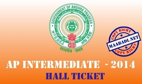 AP Inter 1st, 2nd year Hall Tickets 2014 Download at bieap.cgg.gov.in | maabadi.net | Scoop.it