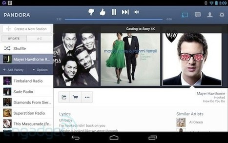 Pandora for Android adds Chromecast streaming (update: iPhone too)   Everything about iDevices   Scoop.it