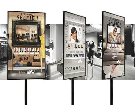 MySelfie : un nouvel outil en magasin pour renforcer la notoriété des marques en ligne | Made In Retail : Commerce digital des réseaux de la mode | Scoop.it