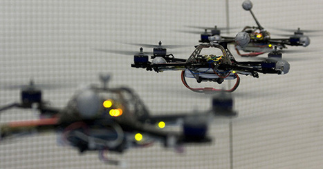 Trois robots jonglent et s'envoient en l'air | Actualités robots et humanoïdes | Scoop.it