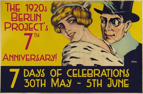 The 1920s Berlin Project celebrates its 7th anniversary! - Second Life | Art & Culture in Second Life - art Exhibitions, Literature, Groups & more | Scoop.it