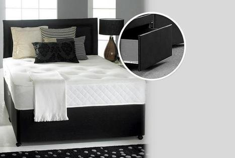 Divan Bed, Mattress & Headboard From £199.95 (from Fishoom) - save up to 78% | Memory Foam Mattress | Scoop.it