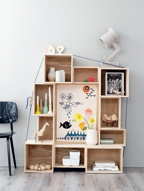 One Project, Five Ways:  Asymmetrical Stacked Box Storage   Creative Life   Scoop.it