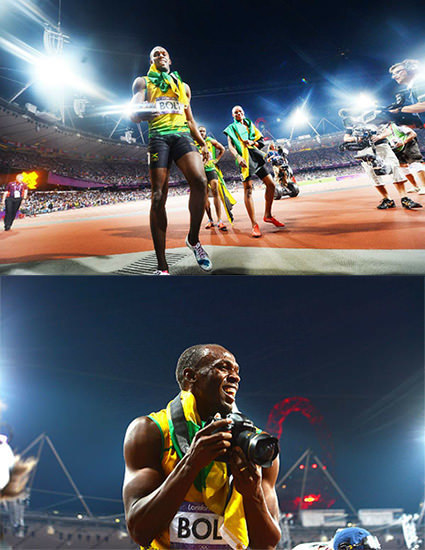 Usain Bolt Nabs Photographer's DSLR, Snaps Awesome POV Shots | Fables in Photojournalism | Scoop.it