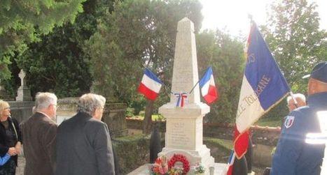 Dépôt de gerbe aux monuments aux morts - ladepeche.fr | monument aux morts 14-18 | Scoop.it