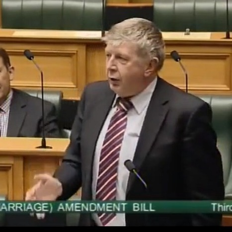 This New Zealand Politician Unleashes One Of The Funniest Gay Marriage Speeches On Record | Coffee Party Feminists | Scoop.it