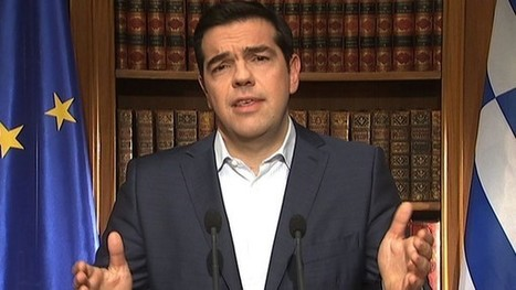 Tsipras urges Greeks to defy creditors' 'blackmail' - FT.com | European Political Economy | Scoop.it