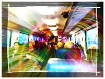 91/365 Train at the speed of light #andrography | MobilePhotography | Scoop.it