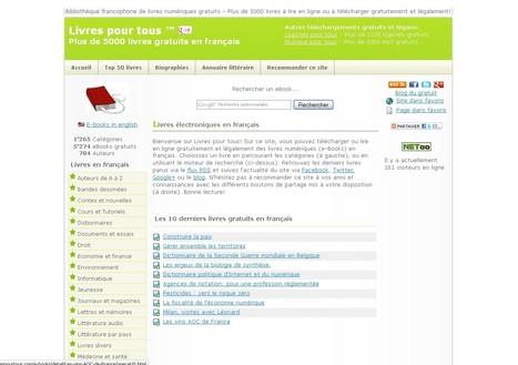 Livres pour tous   Lectures en ligne   Scoop.it