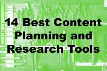 The 14 Best Content Planning and Research Tools | Research Tools Box | Scoop.it