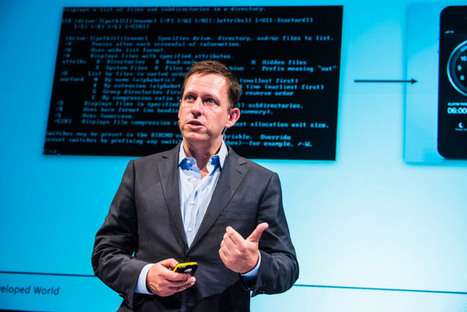 VC Peter Thiel: You can either invest in 'bits' or 'atoms' | Myself and Entrepreneurship&Inspiration | Scoop.it