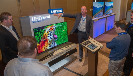US Market is Waiting for Samsung Curved UHD TVs with Open Hands | Ultra High Definition Television (UHDTV) | Scoop.it