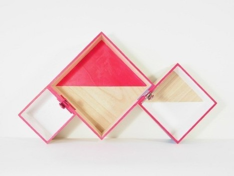 Tự tạo kệ treo cực ấn tượng cho riêng mình | Sản phẩm nội thất - Interior product | Scoop.it
