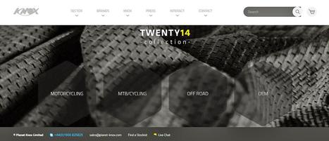Knox Launch New Website | Motorcycle Industry News | Scoop.it