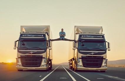 It's Nice That : Advertising: Volvo still smashing it as Jean-Claude does extreme splits | the goalden spirit | Scoop.it