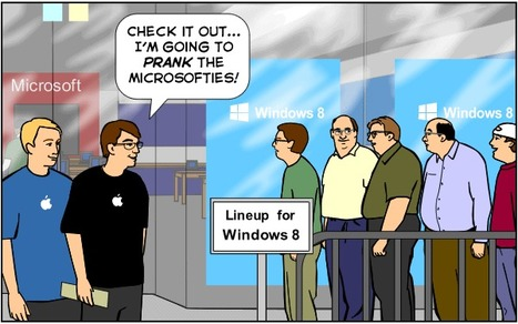 Smug Apple Fans Secretly Lust After Microsoft Surface Tablets [SUNDAY COMICS] | Microsoft | Scoop.it