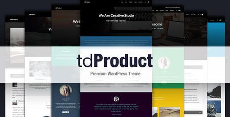 tdProduct - Responsive Multi-Purpose Theme (Creative) - Creative WordPress Theme   Information Technology   Scoop.it