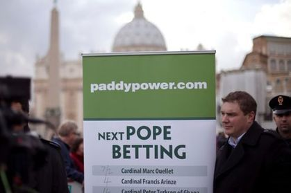 Conclave : les bookmakers s'affairent eux aussi | Chemin spirituel | Scoop.it