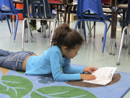 Fisher Elementary students drop everything and read - Bennington Banner   Children's Literature   Scoop.it