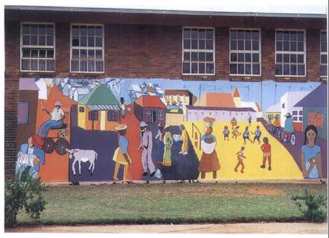 Murs des écoles, école des murs en Afrique du Sud. Les institutions éducatives vues du dehors (Autrepart) | Géographie de l'espace scolaire, Géographie de l'école | Scoop.it